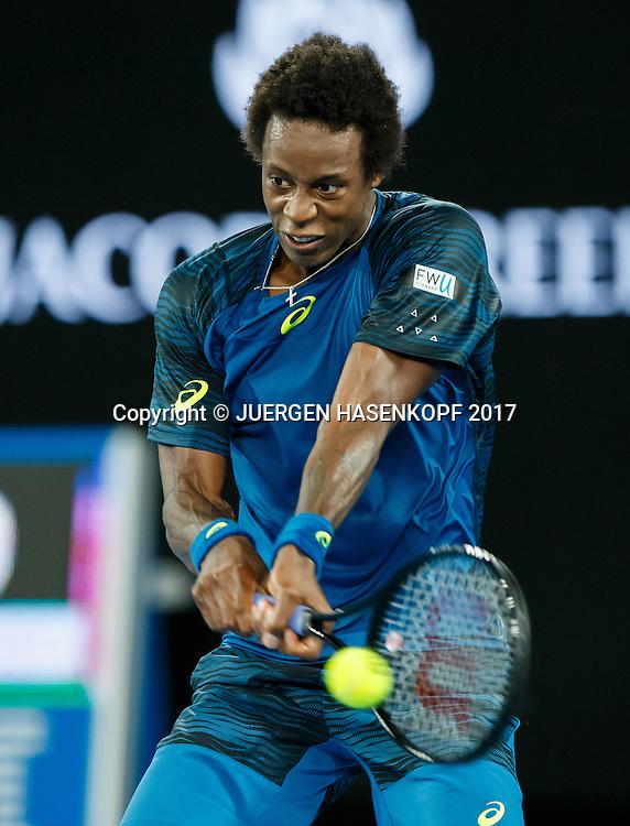 GAEL MONFILS (FRA)<br /> <br /> Australian Open 2017 -  Melbourne  Park - Melbourne - Victoria - Australia  - 23/01/2017.