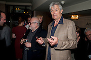 JONATHON LYNN; SIMON WILLIAMS, Yes, Prime Minister Press night re-opening at Apollo Theatre, Shaftesbury Avenue London<br /> <br /> <br />  , -DO NOT ARCHIVE-© Copyright Photograph by Dafydd Jones. 248 Clapham Rd. London SW9 0PZ. Tel 0207 820 0771. www.dafjones.com.