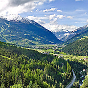 Valtellina mountains, Bormio and Livigno