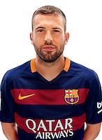Spain - Liga BBVA 2015-2016 / <br /> ( Fc Barcelona ) - <br /> Jordi Alba