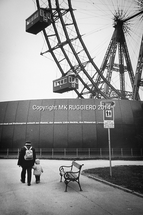 """""""Riesenrad""""                     Vienna, Austria - 1989"""