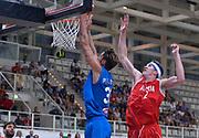 DESCRIZIONE : Trento Nazionale Italia Uomini Trentino Basket Cup Italia Austria Italy Austria <br /> GIOCATORE : Achille Polonara<br /> CATEGORIA : schiacciata<br /> SQUADRA : Italia Italy<br /> EVENTO : Trentino Basket Cup<br /> GARA : Italia Austria Italy Austria<br /> DATA : 31/07/2015<br /> SPORT : Pallacanestro<br /> AUTORE : Agenzia Ciamillo-Castoria/R.Morgano<br /> Galleria : FIP Nazionali 2015<br /> Fotonotizia : Trento Nazionale Italia Uomini Trentino Basket Cup Italia Austria Italy Austria