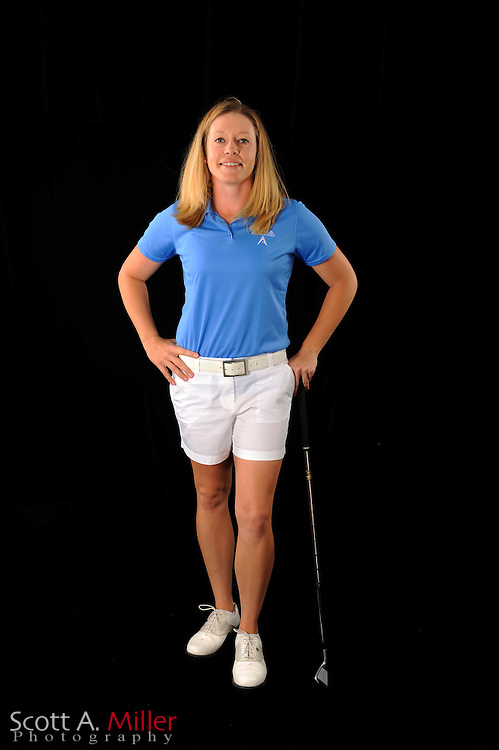 Leah Wigger during a portrait shoot prior to the Symetra Tour's Florida's Natural Charity Classic at the Lake Region Yacht and Country Club on March 20, 2012 in Winter Haven, Fla. ..©2012 Scott A. Miller.