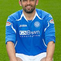 St Johnstone FC...Season 2011-12<br /> Callum Davidson<br /> Picture by Graeme Hart.<br /> Copyright Perthshire Picture Agency<br /> Tel: 01738 623350  Mobile: 07990 594431