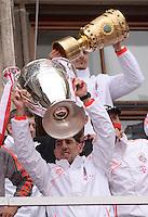 FUSSBALL TRIPELPARTY  SAISON  2012/2013  02.06.2013 Champions Party des FC Bayern Muenchen nach dem Gewinn des DFB Pokal und Triple.  Franck Ribery (Bayern Muenchen)