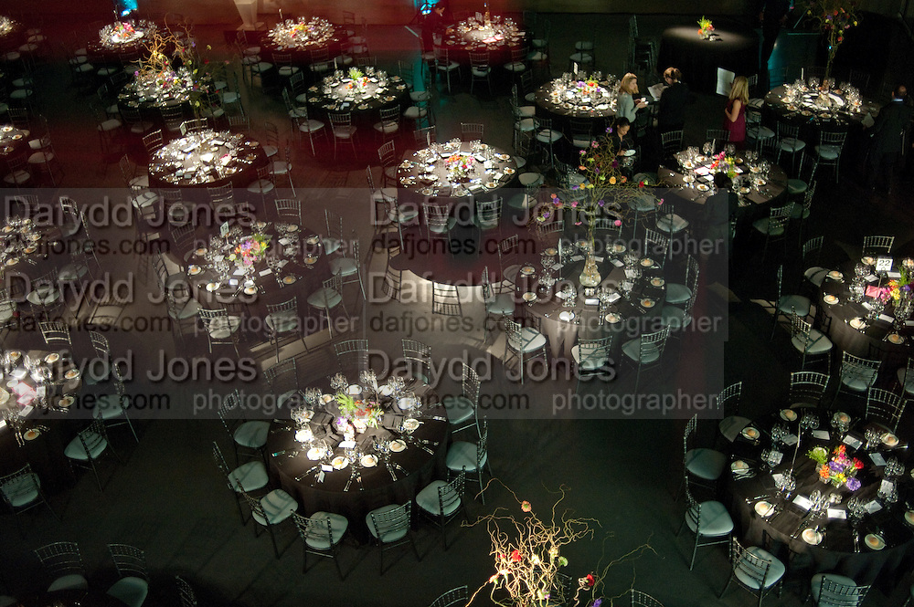 Damien Hirst, Tate Modern: dinner. 2 April 2012.