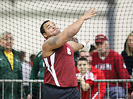 February 8, 2014: The Oklahoma Christian University Eagles participate in the UCO Indoor Invitational at the Mosier Indoor Facility on the campus of the University of Oklahoma.