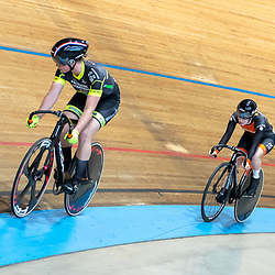 28-12-2019: Wielrennen: NK Baan: Alkmaar<br />Shanne Braspennicx vs Caroline Groot