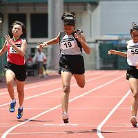 A Girls 100m