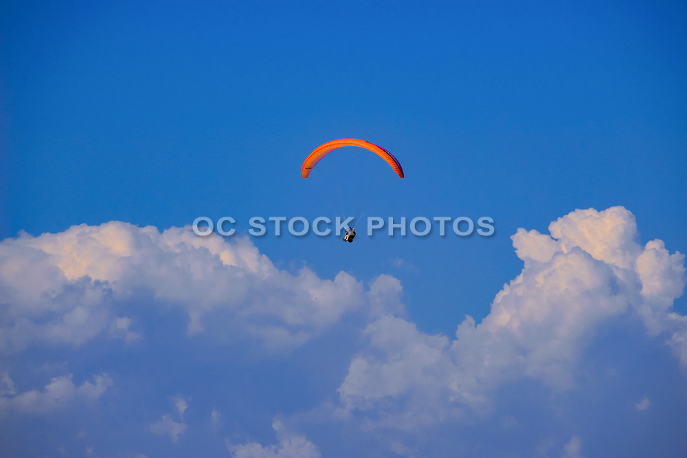 Paragliding Through the Clouds of La Jolla California
