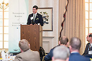Micahel Adelman addresses attendees at the Ohio University State Government Alumni Luncheon on Tuesday, May 5, 2015.  Photo by Ohio University  /  Rob Hardin