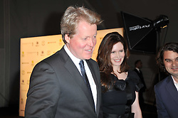 EARL SPENCER and KAREN GORDON at a gala evening in aid of Ubuntu Education Fund held at Battersea Power Station, London on 4th May 2011.