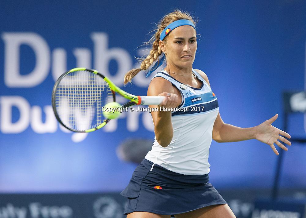 MONICA PUIG (PUR)<br /> <br /> Tennis - Dubai Tennis Championships 2017 -  WTA -  Dubai Duty Free Tennis Stadium - Dubai  -  - United Arab Emirates  - 23 February 2017.