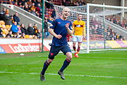 Steven Naismith (#14) of Heart of Midlothian celebrates after scoring the equalising goal during the Ladbrokes Scottish Premiership match between Motherwell FC and Heart of Midlothian FC at Fir Park, Stadium, Motherwell, Scotland on 17 February 2019.