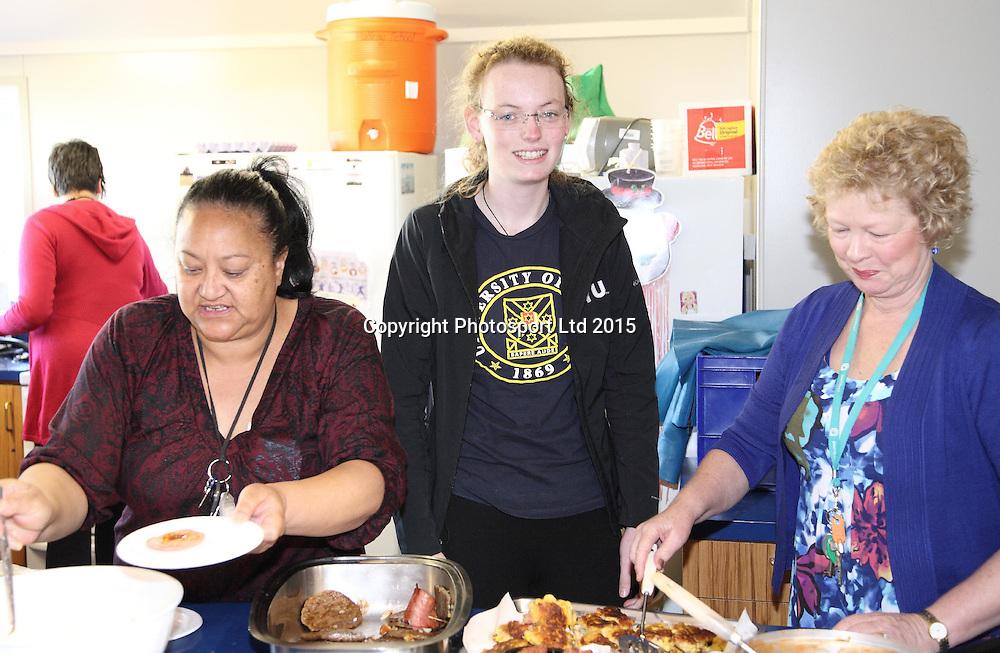 Loren Skudder-Hill is photographed for the Genesis Shile a Light nominations. Rotorua, 13 November 2015. Photo: Gerhard Egger / www.photosport.nz