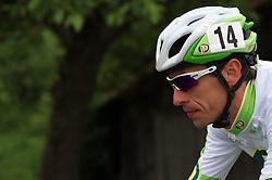 Radoslav Rogina of Croatia (Perutnina Ptuj) in last 4th stage of the 15th Tour de Slovenie from Celje to Novo mesto (157 km), on June 14,2008, Slovenia. (Photo by Vid Ponikvar / Sportal Images)/ Sportida)