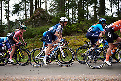 Audrey Cordon-Ragot (FRA) in the bunch on the first gravel sector during Postnord UCI WWT Vårgårda WestSweden Road Race, a 145.3 km road race in Vårgårda, Sweden on August 18, 2019. Photo by Sean Robinson/velofocus.com