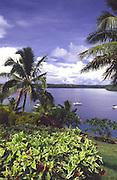 Neiafu harbor, Vavau Island, Tonga<br />