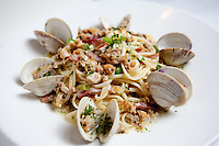 Linguini with Clams at Tony's Restaurant in downtown St. Louis.