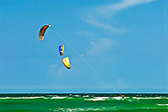 Florida, Ft George, Huguenot Memorial Park, Kite Surfing
