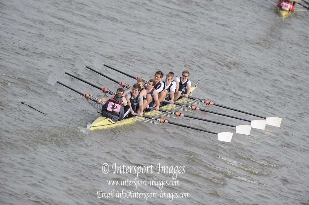 Putney/Barnes,  Great Britain,  Upper Thames -  2008 Head of the River Race. Raced from Mortlake to Putney, over the Championship Course.  15/03/2008  [Mandatory Credit. Peter Spurrier/Intersport Images] Rowing Course: River Thames, Championship course, Putney to Mortlake 4.25 Miles,