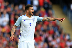 Kyle Walker of England points - Mandatory byline: Matt McNulty/JMP - 07966386802 - 22/05/2016 - FOOTBALL - Etihad Stadium -Manchester,England - England v Turkey - International Friendly