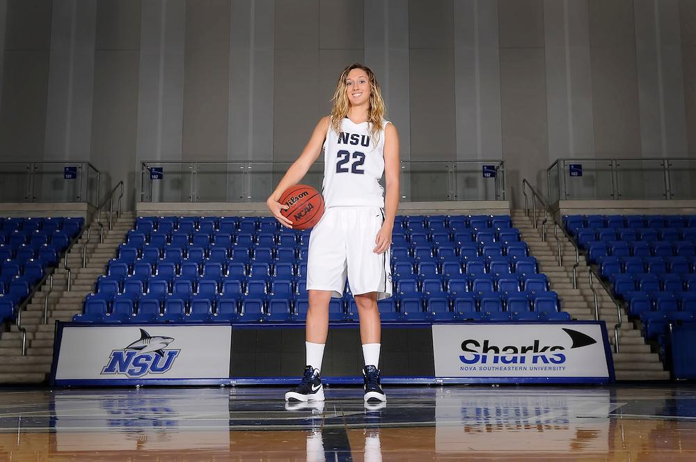 2012 NSU Women's Basketball Photo Day