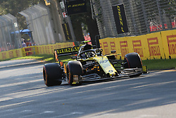 March 16, 2019 - NICO HULKENBERG during qualifying for the 2019 Formula 1 Australian Grand Prix on March 16, 2019 In Melbourne, Australia  (Credit Image: © Christopher Khoury/Australian Press Agency via ZUMA  Wire)