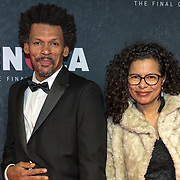 NLD/Amsterdam/20191118 - Filmpremiere Penoza: The Final Chapter, Gustav Borreman en partner