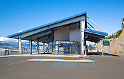 Alaska, Valdez. Ferry Terminal.
