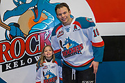 KELOWNA, CANADA - MARCH 14:  Pepsi Player of the Game with Carsen Twarynski #18 of the Kelowna Rockets at the Kelowna Rockets game on March 14, 2018 at Prospera Place in Kelowna, British Columbia, Canada.  (Photo By Cindy Rogers/Nyasa Photography,  *** Local Caption ***