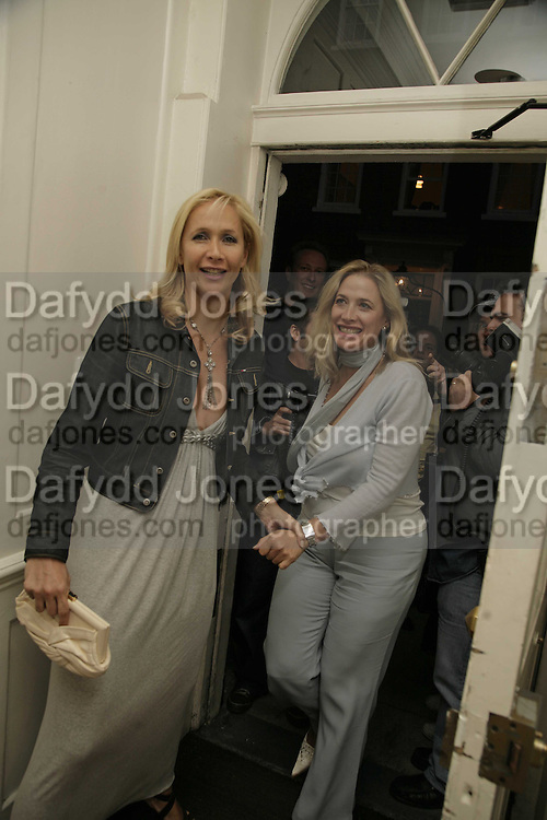 TANIA BRYER, Photos by Robert Mapplethorpe: Still Moving & Lady, Alison Jacques Gallery, 4 Clifford Street, London, W1, Dinner afterwards at the  The Dorchester with performance by Patti Smith, 7 September 2006.  ONE TIME USE ONLY - DO NOT ARCHIVE  © Copyright Photograph by Dafydd Jones 66 Stockwell Park Rd. London SW9 0DA Tel 020 7733 0108 www.dafjones.com
