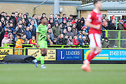 Leaders Ad board during the EFL Sky Bet League 2 match between Forest Green Rovers and Walsall at the New Lawn, Forest Green, United Kingdom on 8 February 2020.