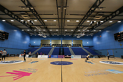 General view of the arena - Photo mandatory by-line: Arron Gent/JMP - 02/11/2019 - BASKETBALL - Surrey Sports Park - Guildford, England - Surrey Scorchers v Bristol Flyers - British Basketball League Cup