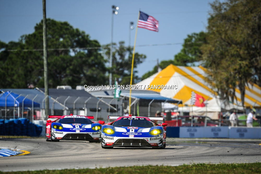 #67 FORD CHIP GANASSI RACING (USA) FORD GT GTLM RYAN BRISCOE (AUS) SCOTT DIXON (NZL) RICHARD WESTBROOKE (GBR)
