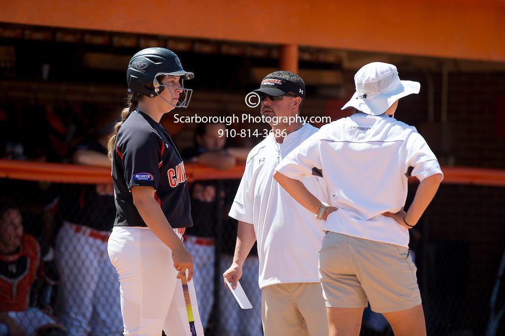 BUIES CREEK, NC - April 24th, 2016 Campbell University Softball vs Winthrop