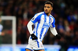 Steve Mounie of Huddersfield Town - Mandatory by-line: Matt McNulty/JMP - 30/01/2018 - FOOTBALL - John Smith's Stadium - Huddersfield, England - Huddersfield Town v Liverpool - Premier League