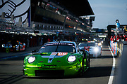 June 16-17, 2018: 24 hours of Le Mans. 99 Proton Competition, Porsche 911 RSR, Patrick Long, Tim Pappas, Spencer Pumpelly