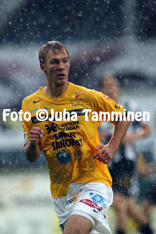 21.08.2006, Veritas Stadion, Turku, Finland..Veikkausliiga 2006 - Finnish League 2006.FC TPS Turku - Kuopion Palloseura.Pyry K?rkk?inen - KuPS.©Juha Tamminen.....ARK:k