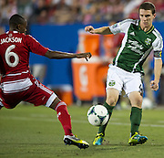 FRISCO, TX - JUNE 26:  Will Johnson #4 of the Portland Timbers crosses the ball against FC Dallas on June 26, 2013 at FC Dallas Stadium in Frisco, Texas.  (Photo by Cooper Neill/Getty Images) *** Local Caption *** Will Johnson