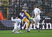 Photo: Maarten Straetemans/Sportsbeat Images.<br /> Anderlecht v Tottenham Hotspur. UEFA Cup. 06/12/2007.<br /> Bart Goor (Anderlecht) scores the 1-0