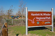 Harriet M. Wieder Regional Park of Orange County California