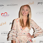 Noelle Reno attends gala dinner and concert to raise money and awareness for the Melissa Bell Foundation and Style For Stroke Foundation. 14 October 2018.