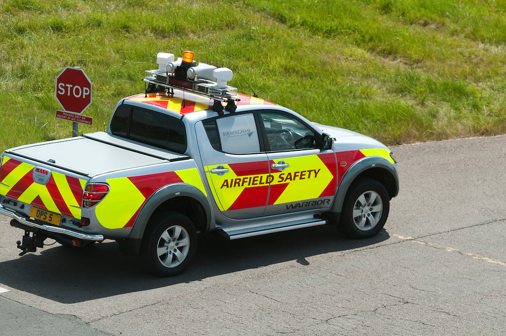 Airfield safety car