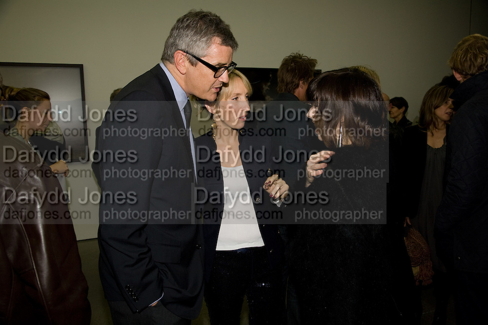 JAY JOPLING; SAM TAYLOR WOOD, Yes 1 No. Sam Taylor Wood. White Cube. Mason's Yard. London. 23 October 2008 *** Local Caption *** -DO NOT ARCHIVE -Copyright Photograph by Dafydd Jones. 248 Clapham Rd. London SW9 0PZ. Tel 0207 820 0771. www.dafjones.com