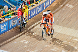 , NED, ESP, Sprint FInals, 2015 UCI Para-Cycling Track World Championships, Apeldoorn, Netherlands
