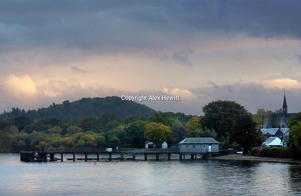 Luss on Loch Lomond, Scotland..Pic by Alex Hewitt.07789 871540.alex.hewitt@gmail.com