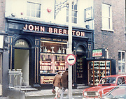 Old Dublin Amature Photos March 1983 WITH, Preretons Pawn Shop, Capel St, The Alcove, Ballsbridge, Donnollons Shop York Rd Dunlaire, Lodge BALLENTEER, Farm Gates, The Corner shop. Rathfarnham, School Inchicore, Quinns Butchers, Howth, john brereton shop jewellers antique dealer, 108, renault 4l car,