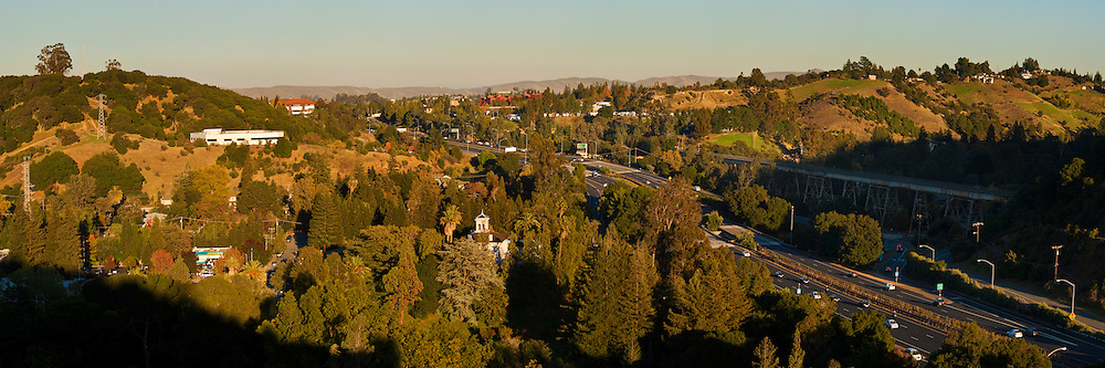 Overlooking the home of John Muir, John Muir National Historic Site, Martinez, California