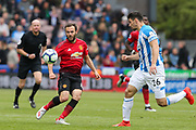Manchester United midfielder Juan Mata (8) in action during the Premier League match between Huddersfield Town and Manchester United at the John Smiths Stadium, Huddersfield, England on 5 May 2019.